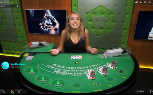 Generic blackjack tables only (no private)