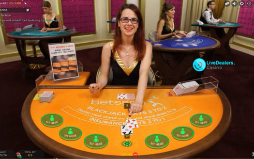 1 exclusive blackjack table, all Evolution Gaming generic tables